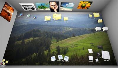 Bumptop - Transforma seu Desktop em um ambiente 3D