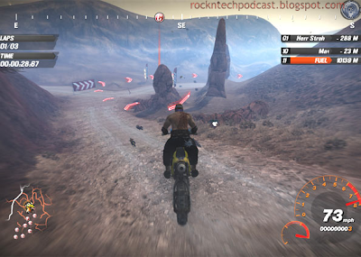 Game FANTÁSTICO de corrida off-road tem sistema de GPS virtual