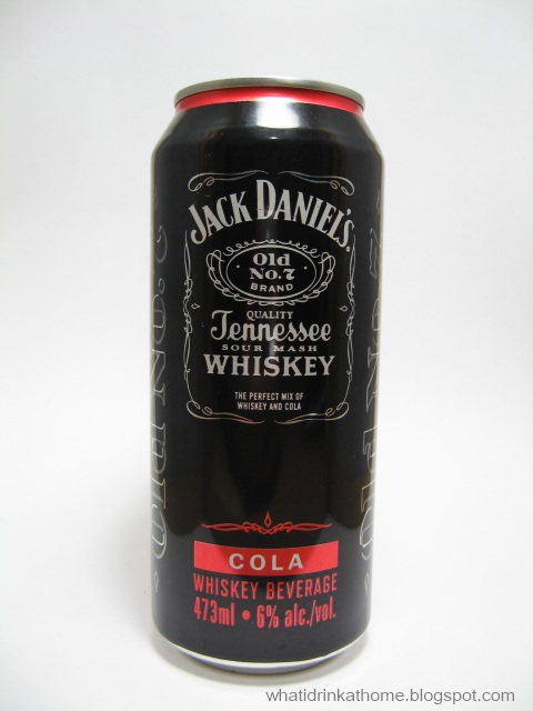 Jack and coke alcohol content