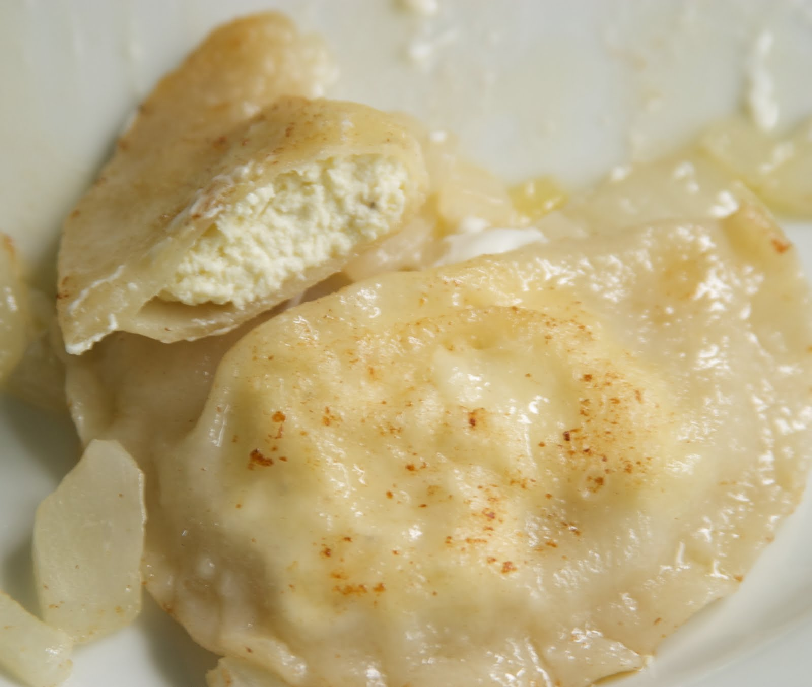 All Our Fingers in the Pie: Cottage Cheese Perogies