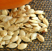 Pumpkin Butter and Roasted Pumpkin Seeds