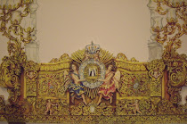 nuevo trono para la Virgen de la Paloma.