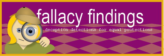 Fallacy Findings