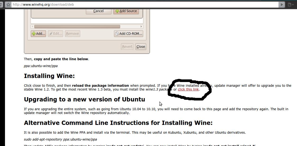 Cara Install Wine di Ubuntu