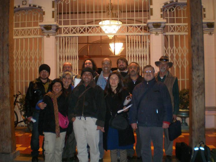 Este es el equipo humano que conforma el Consejo Nacional de Artesanas y Artesanos de Chile
