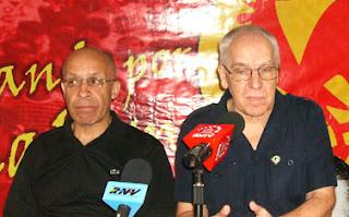 PCC y PCV: Llaman a nuestros pueblos a la unidad y a manifestarse masivamente por la paz