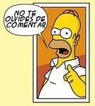 Mira lo que dice Homer