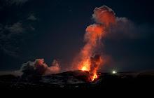 O vulcão Eyjafjallajökull Eyjafjalla