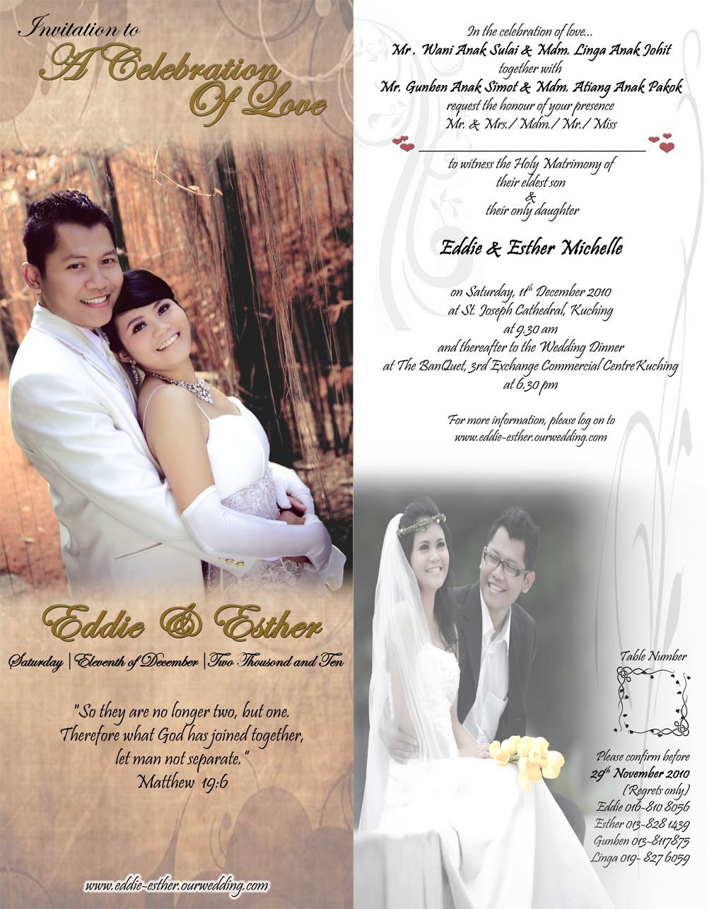 Blisssss wedding invi card our wedding invitation cardedess masterpiece stopboris Image collections