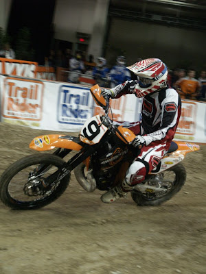 Homero Diaz at World EnduroCross Championship on Christini AWD KTM 250