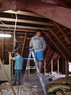 Third Floor Attic Remodel   The Hollow Road Blog