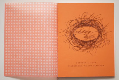 p1 Wedding Programs   Darling Dexter