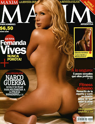 RevistaH,Fernanda Vives Tetas,Chicas Hot,Chicas Lenceria,Mujeres depiladas