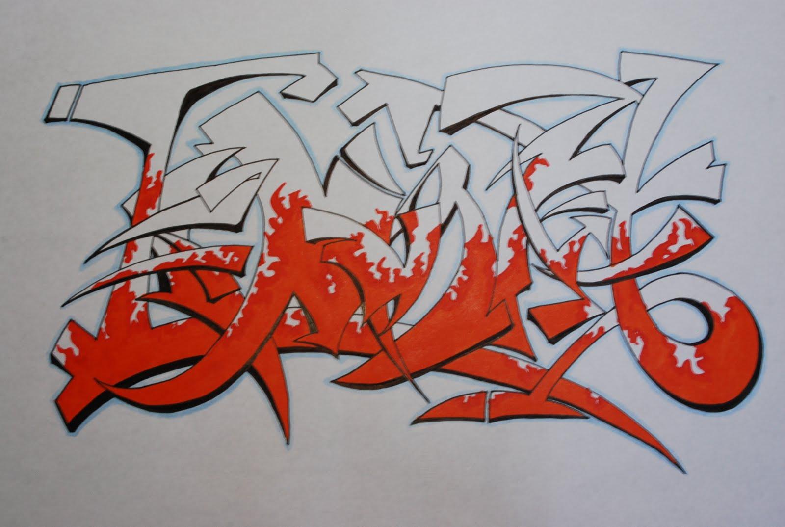 Как из надписи сделать граффити в 233