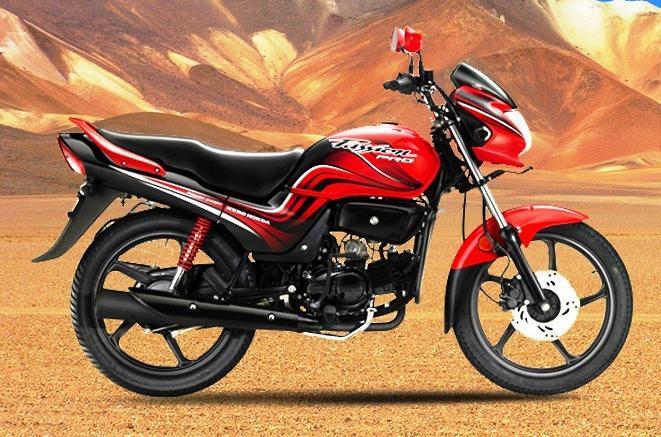 bike of hero honda is