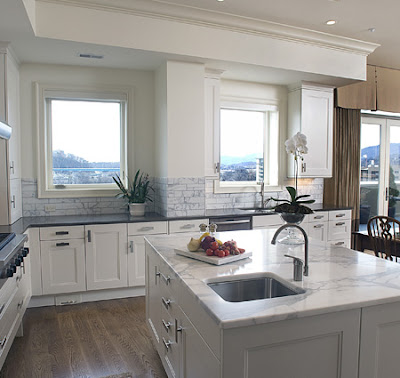 Countertops and Island