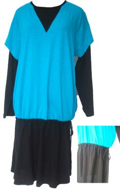 AQ143B blue+black ( XS - 2XL )