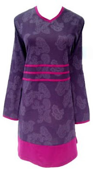 AQ233C DARK PURPLE (XS-XL) SIZE M in STOCK ONLY!!!