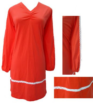 AQ251B PEACH-ORANGE (XS-2XL)-MUSLIMAH T SHIRT