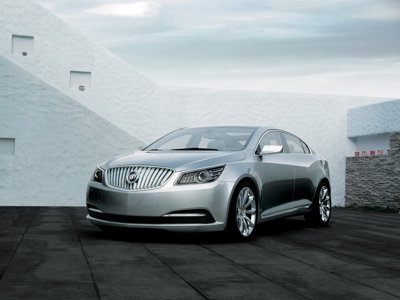 Buick LaCrosse: Global Positioning System (GPS)