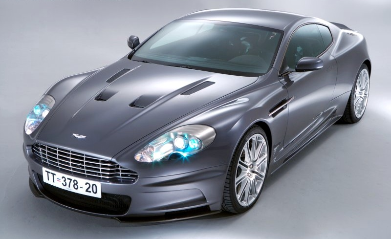 Aston Martin Vanquish. Wallpaper