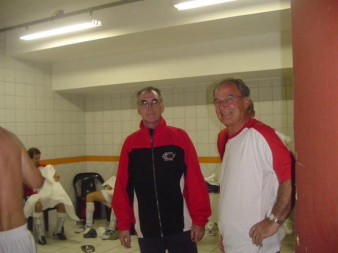 Brazilians Mario Jose e Paulista : Canada Team Coaching advisers. 2007 Brazil Grand Prix.