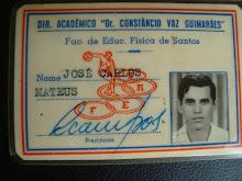 Carlos Mateus atendeu 3 universidades iniciou na FEFIS Faculdade de Educaçào Fisica de Santos, 1974