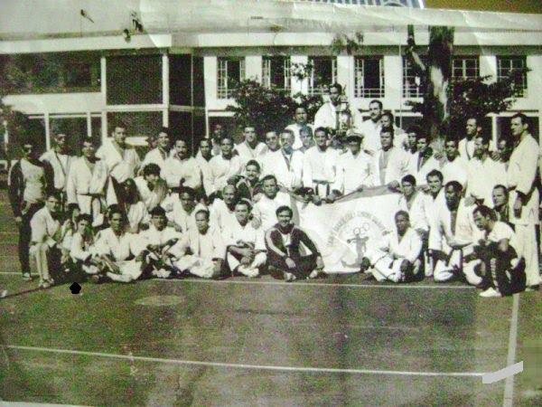 Equipe de Judo da Marinha do Brasil,1976 Belo Horizonte , Minas Gerais, Campeonato Militar Campeão