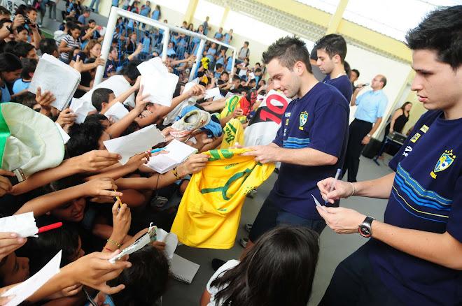 Fifa Futsal  Brazil hammered Argentina in Djony Debut