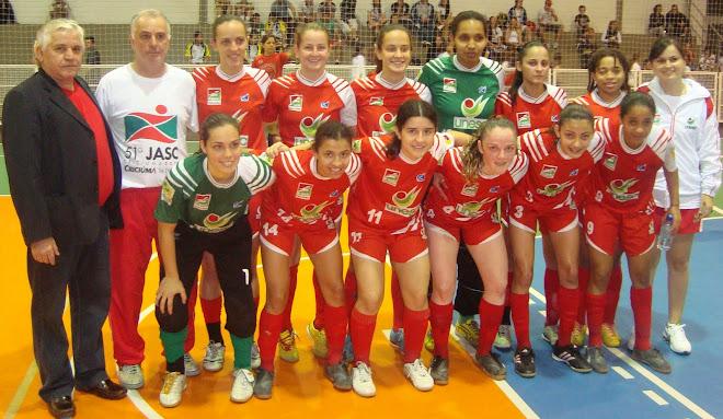 FIFA FUTSAL HISTORY   Carlos Mateus At JASC - Jogos  Catarinense- COACH ZEGO  Unesc  Women Futsal