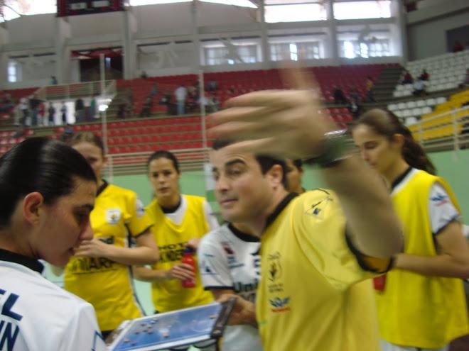 Futsal Catarinene Caçador kidrmann coach Munir at Half time futsal tips