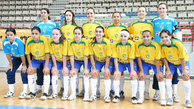 FIFA Womens Futsal  First World Cup In Spain 2010  Brazil Team  champion.