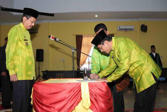 Drs H Haris Fadillah MSi dilantik