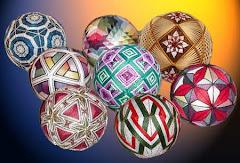 Хобби №1       Темари - японские вышитые шары