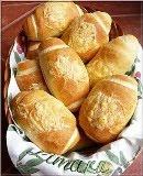 Mini sajtos bagettek