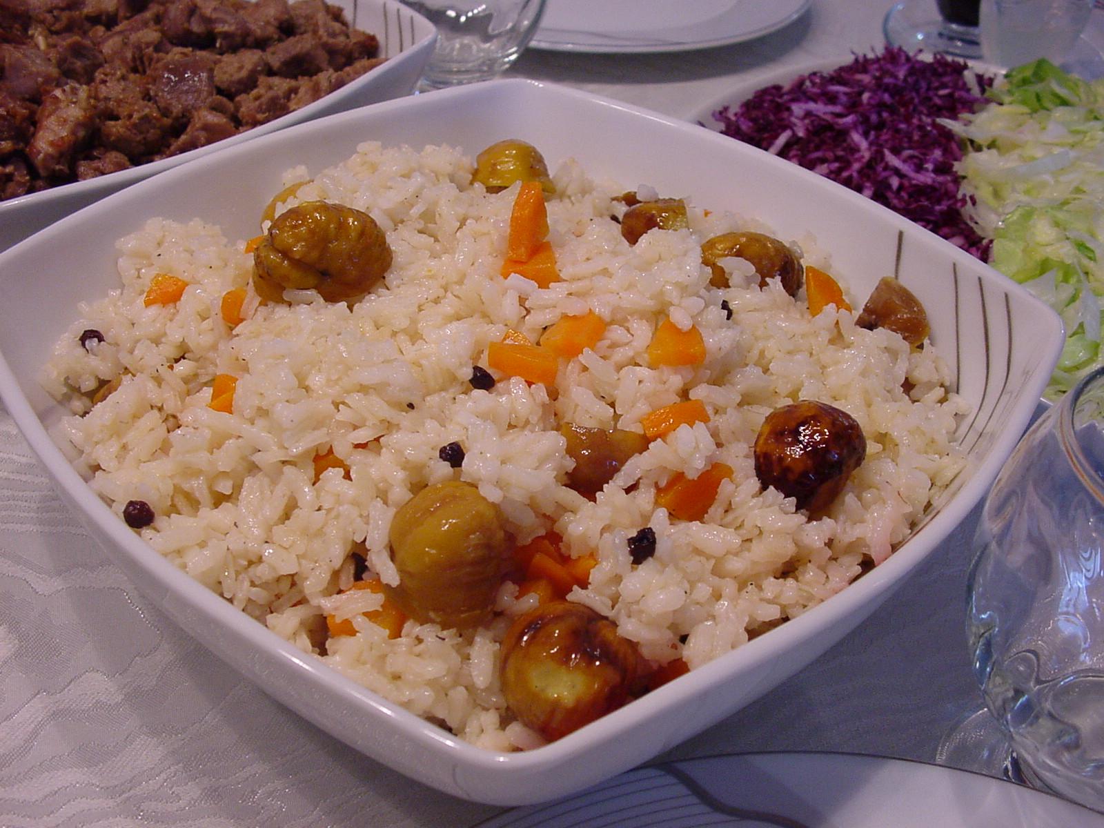 Kestaneli pilav tarifi yemeği — Görsel Yemek Tarifleri ...