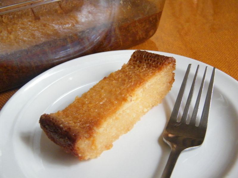 Pin Cassava Cake Shredded Coconut Casava A Filipino Cake on Pinterest