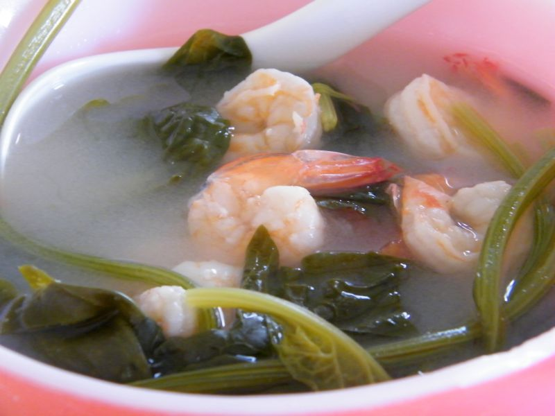 adobongblog: Sinigang na hipon (Shrimp in sour soup) shortcut