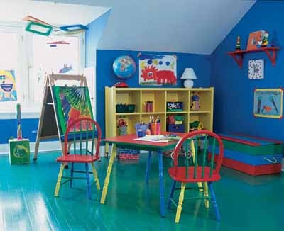 Game Room Decorating Ideas on Playroom Decorating Ideas The Playroom Is Akin To A Recreational Room