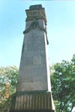 Monumento a Heroes de Nochistlan, 1864, Zac.