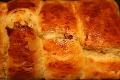 Bacon Asiago bread