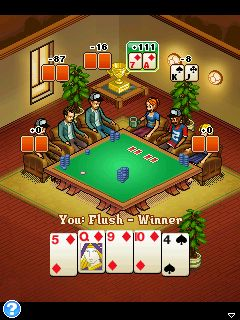 Cafe holdem poker
