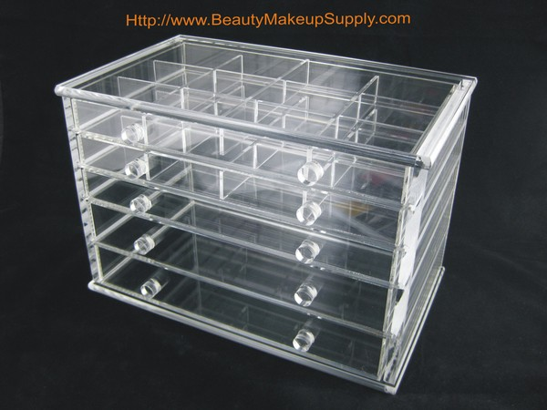 Plexiglass Makeup Storage Cases