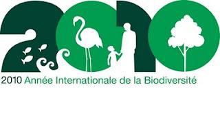 Logo officiel de l'année de la biodiversité