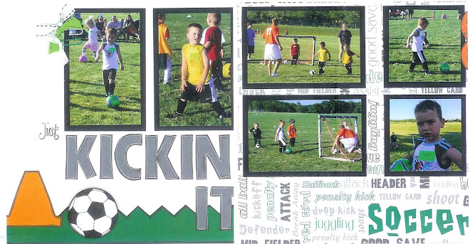 Kickin It (Soccer) - Designed By Jessica Swan