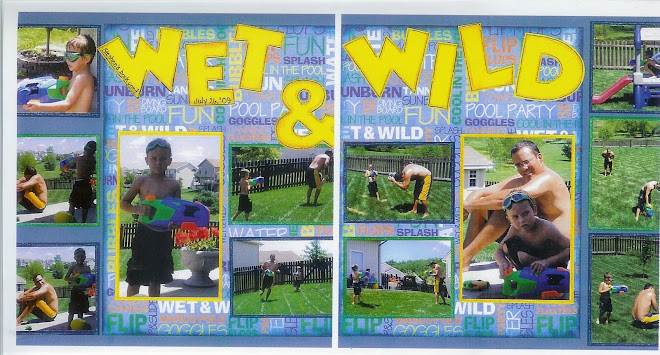 WET & WILD - Designed by Diane Kelly