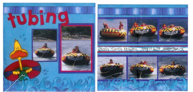 Tubing - Designed by Diane Kelly