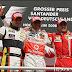 Hamilton gana por delante de Piquet