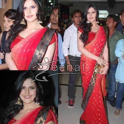 Bollywood actress Zarine Khan