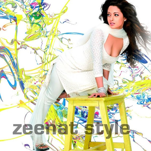 Riya Sen In white Churidar Suit